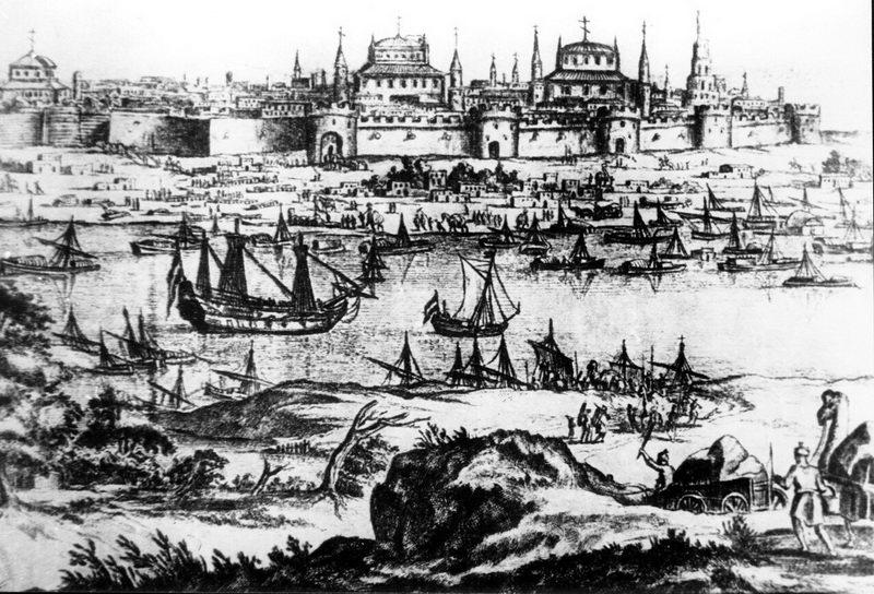 Исторические снимки Астрахани. Часть 1